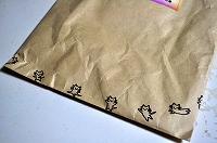 封筒のネコ